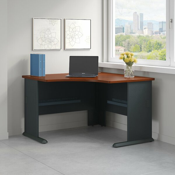 Series A 4 Piece Desk Office Suite by Bush Business Furniture