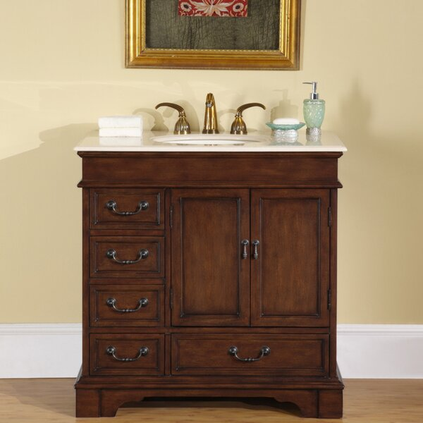 Mciver 36 Single Bathroom Vanity Set by Three Posts