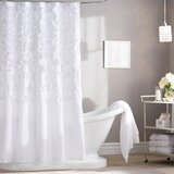 Rieke Floral Single Shower Curtain by Willa Arlo Interiors