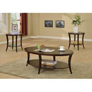 Rhonda 3 Piece Coffee Table Set