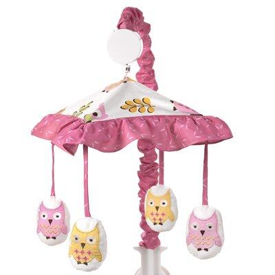 Happy Owl Musical Mobile by Sweet Jojo Designs