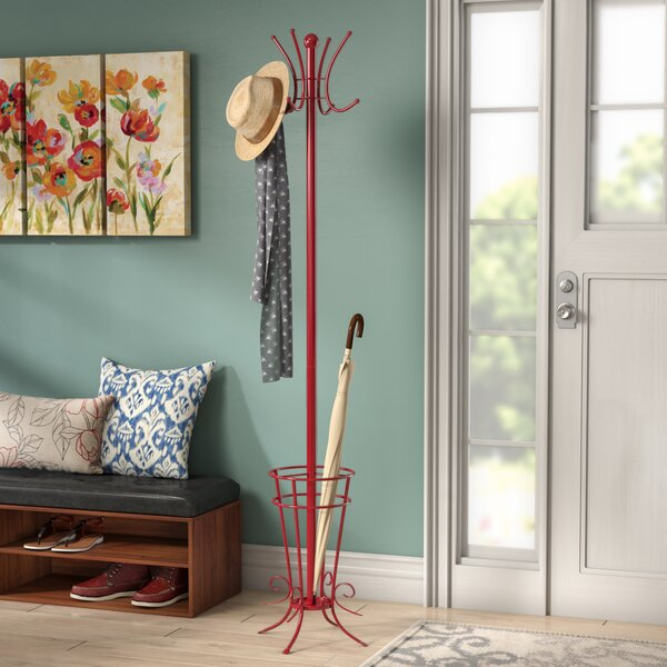 Coat Rack with Umbrella Holder by Andover Mills