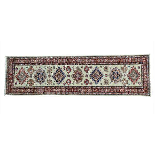 One-of-a-Kind Tillman Super Hand-Knotted Ivory Area Rug by Millwood Pines
