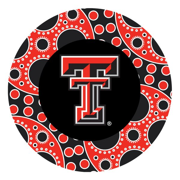 Texas Tech University Circles Collegiate Coaster (Set of 4) by Thirstystone