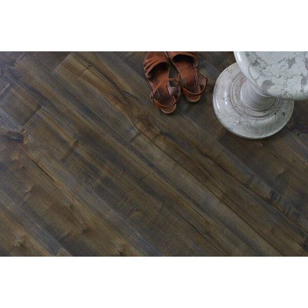 Dombrowski 8 x 48 x 12mm Maple Laminate Flooring in Coco Seco by Serradon
