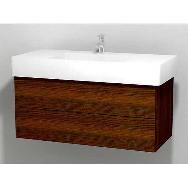 Delos 39 Wall Mount Single Bathroom Vanity Base by Duravit
