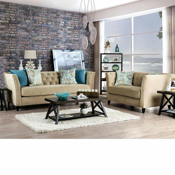 Vioria 2 Piece Living Room Set By Winston Porter