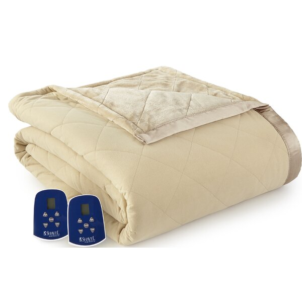 Ridder Electric Heated Blanket by Winston Porter