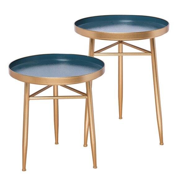 Ady 2 Piece Nesting Tables by Mercer41 Mercer41