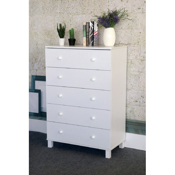 Evie-May 5 Drawer Chest by Latitude Run