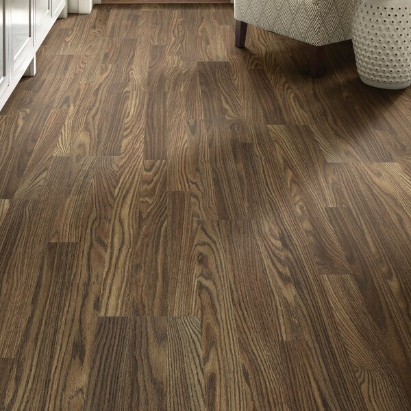 Simple Elegance 8 x 51 x 6mm Oak Laminate Flooring in Antique Brown by Shaw Floors