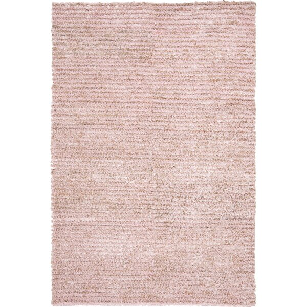 Messiah Pink Area Rug by Bungalow Rose