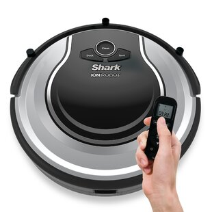 Shark Bagless Robotic Vacuum with Optional Scheduled Cleaning by Shark