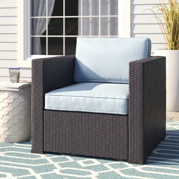 Seaton Arm Chair with Cushions by Sol 72 Outdoor