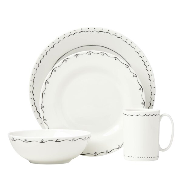 Union Square Doodle 4 Piece Place Setting by kate spade new york