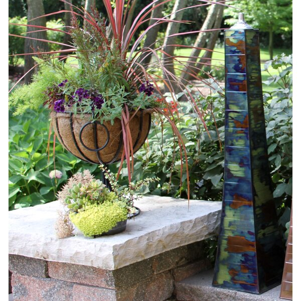 Pyramid Garden Torch Set Of 2 By Outdoor Interiors.