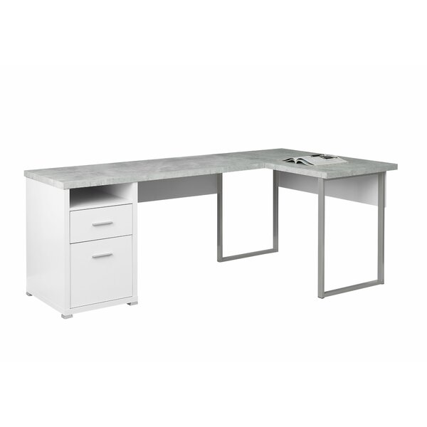 Darcio L-Shape Corner Desk by Latitude Run