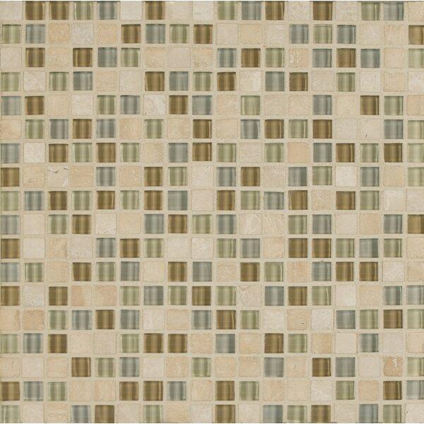 Carlisle 12 x 12 Stone Mosaic Blend Tile in Isle by Grayson Martin