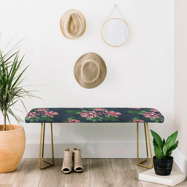 Holli Upholstered Bench by East Urban Home