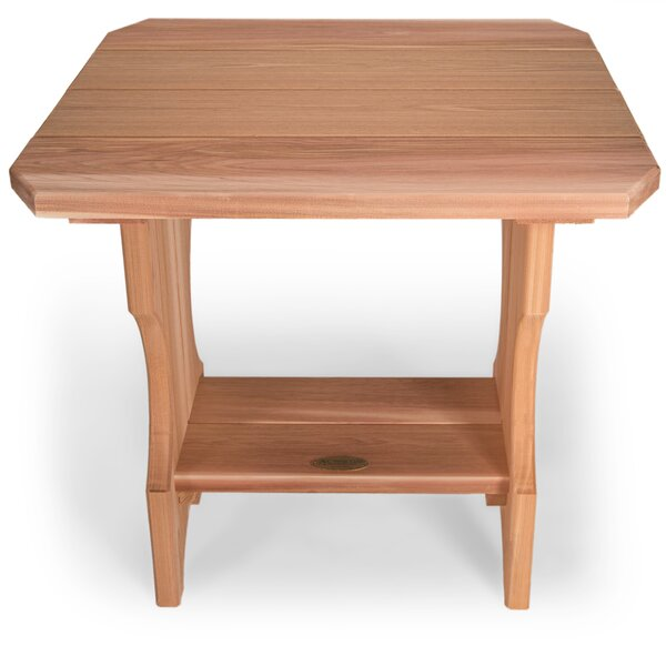 Ardoin Solid Wood Side Table by Union Rustic