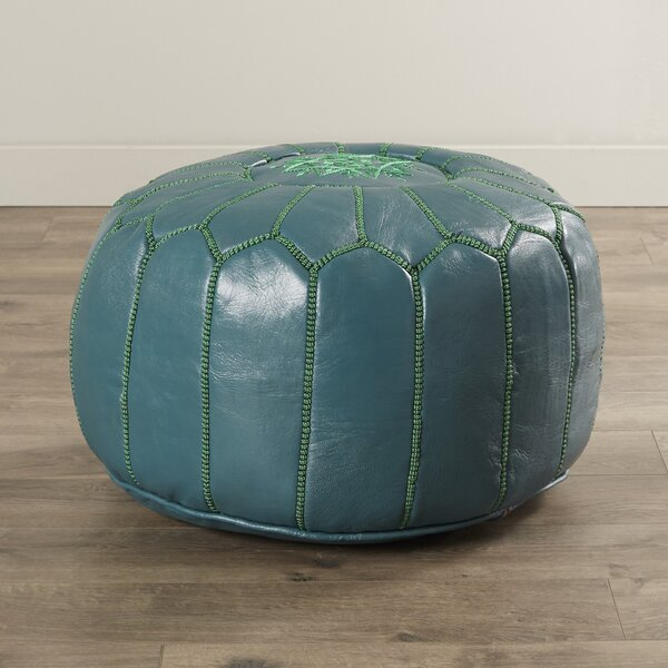 Groovy Aqua Pouf Ottoman Wayfair Andrewgaddart Wooden Chair Designs For Living Room Andrewgaddartcom