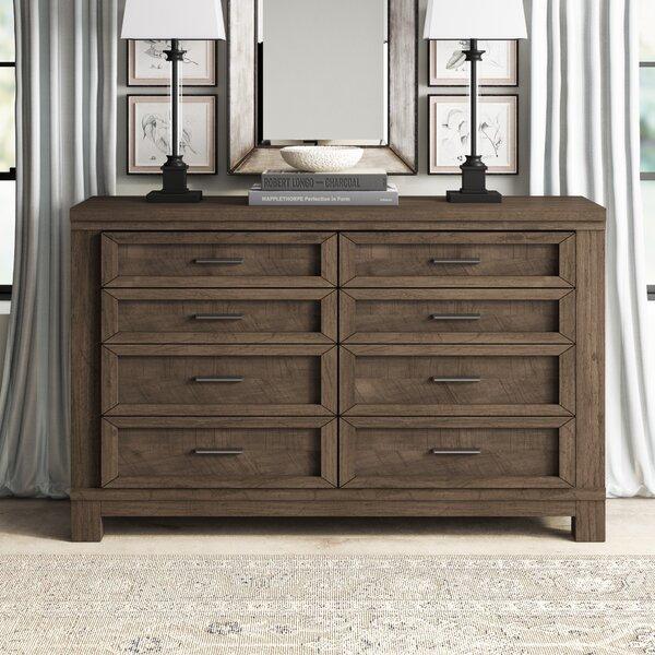 Sallie 8 Drawer Double Dresser by Greyleigh