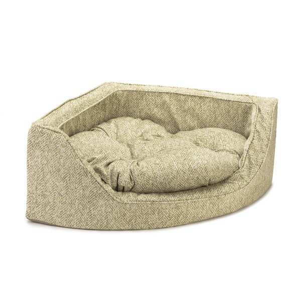 Premium Corner Bolster Dog Bed by Snoozer Pet Products
