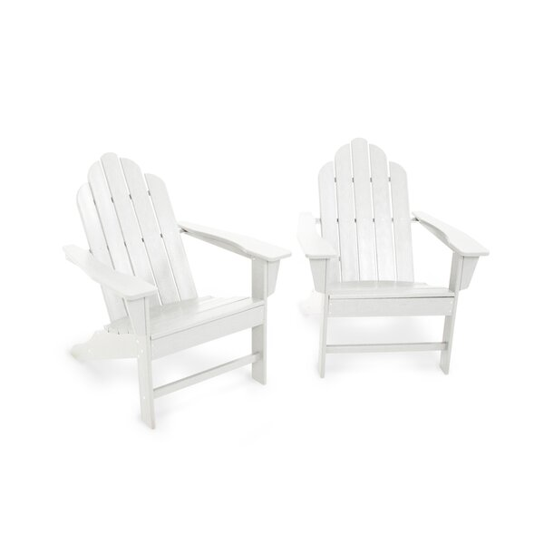 Long Island Plastic Adirondack Chair (Set of 2) by POLYWOOD®