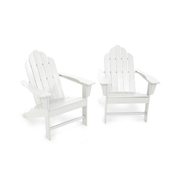 Long Island Plastic Adirondack Chair (Set of 2) by POLYWOOD®