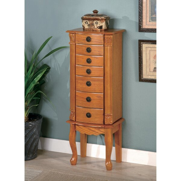 Kilpatrick Classic Style Jewelry Armoire by Alcott Hill