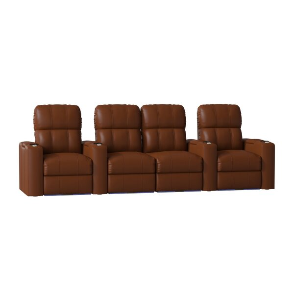 Home Theater Loveseat (Row Of 4) By Red Barrel Studio