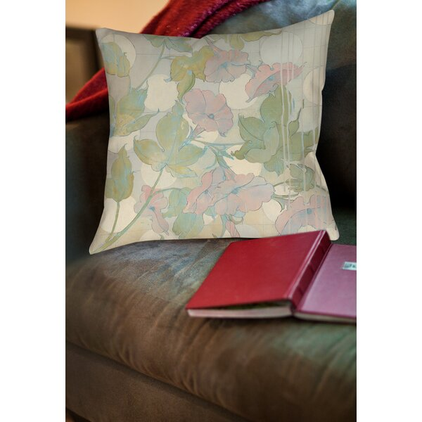 Summer Vine 1 Printed Throw Pillow by Manual Woodworkers & Weavers