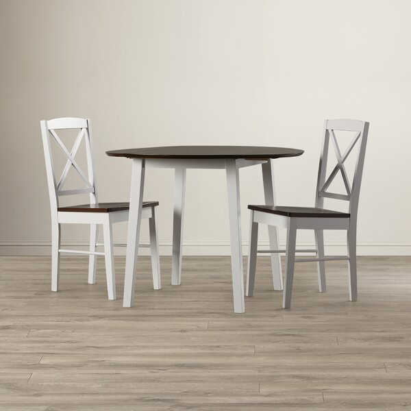 Wiley 3 Piece Drop Leaf Dining Set by Andover Mills Andover Mills