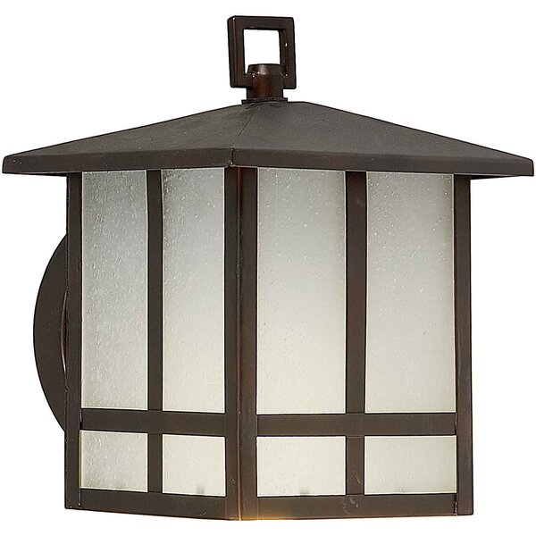 Loring 1-Light Outdoor Flush Mount by Charlton Home