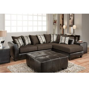 Dilorenzo Contemporary L-Shaped Sectional