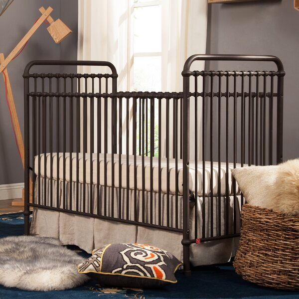 Abigail 3-in-1 Convertible Crib by Million Dollar