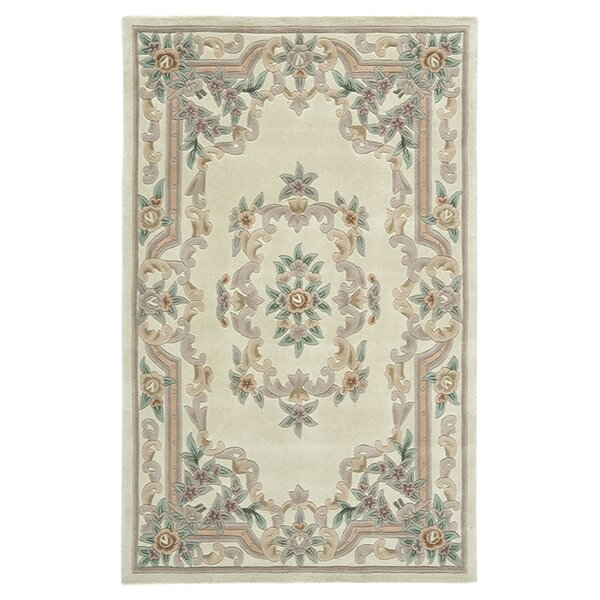 Handmade Ivory Area Rug by The Conestoga Trading Co.