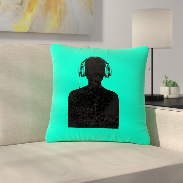 BarmalisiRTB Music Outdoor Throw Pillow by East Urban Home