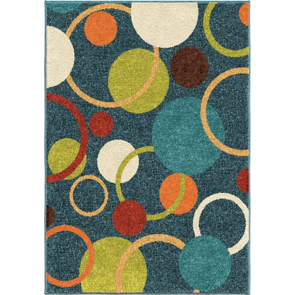 Margaret Blue Area Rug by Threadbind