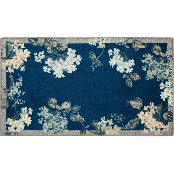 Great Expectation Navy Area Rug by Waverly