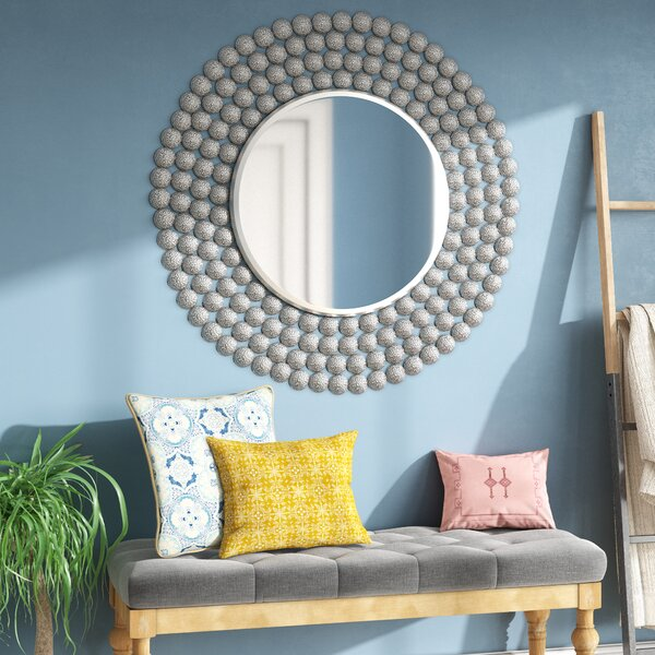 Disks Accent Mirror by Mistana