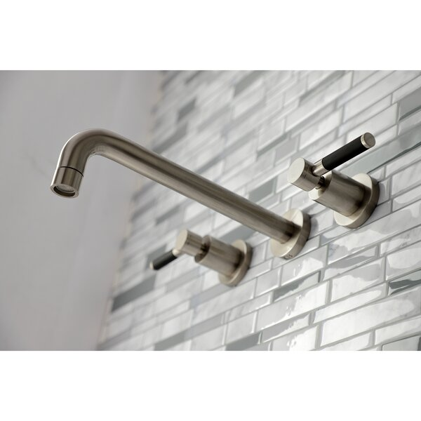 Concord Double Handle Wall Mounted Tub Spout By Kingston Brass