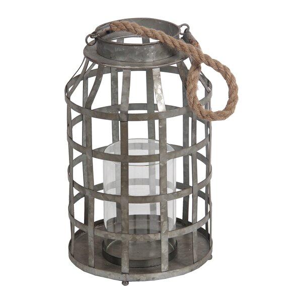 Iron Lantern by Laurel Foundry Modern Farmhouse