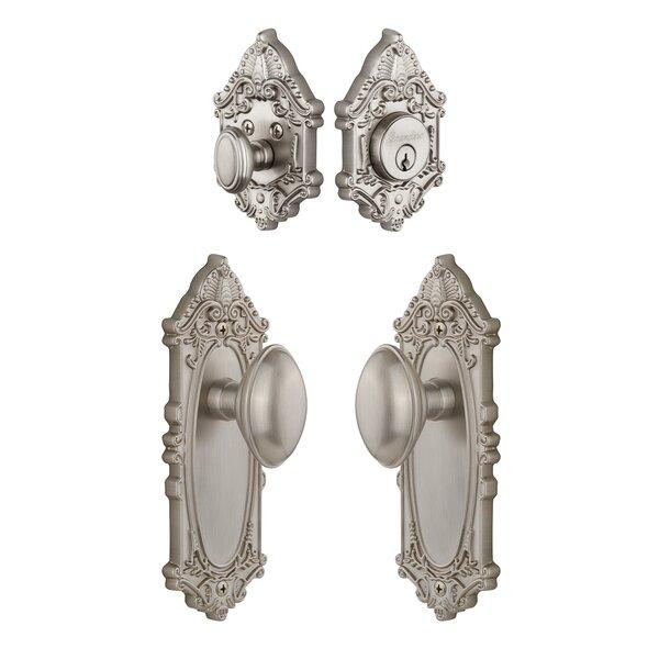 Grande Victorian Keyed Door Knob by Grandeur