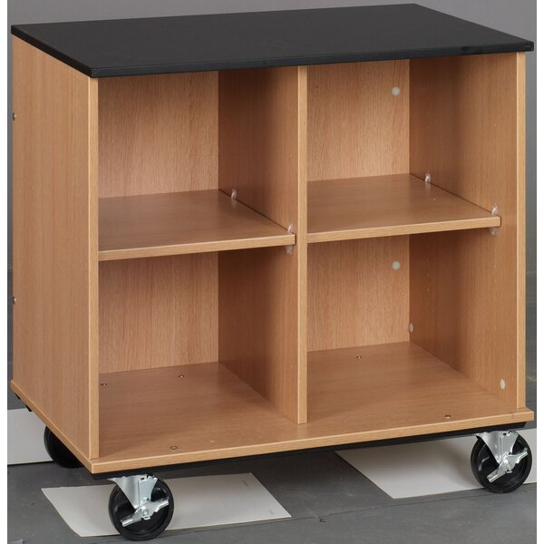 Science 4 Compartment Cubby with Casters by Stevens ID Systems