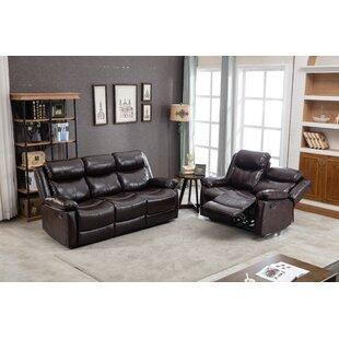Adilena 2 Piece Reclining Living Room Set by Red Barrel Studio®