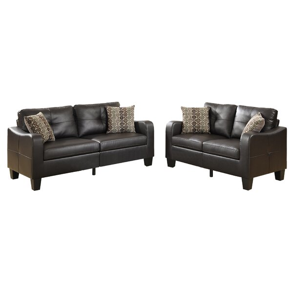 Bobkona Spencer 6 Piece Living Room Set by Poundex