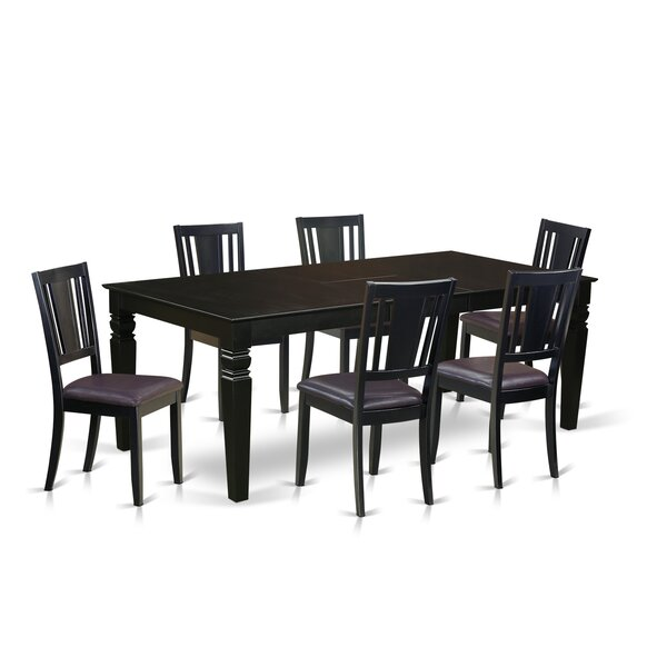 Aqueduct 7 Piece Dining Set by Darby Home Co