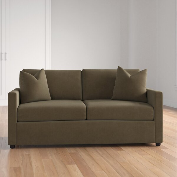 Enso Memory Foam Regular Sleeper Loveseat by Three Posts Three Posts