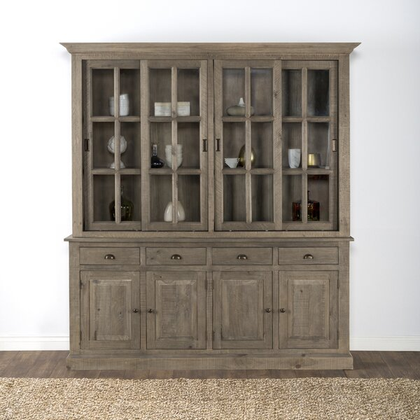 Maryanne Reclaimed Pine China Cabinet by Greyleigh